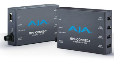 AJA Introduces Mini-Connect: Network Interface Box for Multiple AJA Mini-Converters