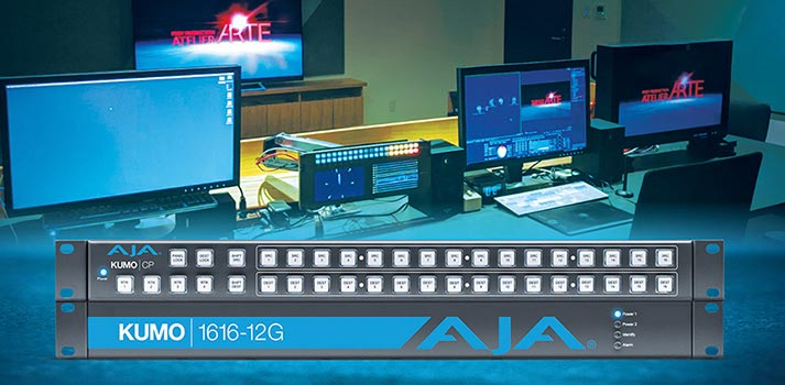 Atelier Arte facilities now with AJA solutions