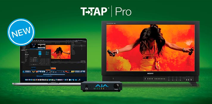 New AJA T-TAP Pro Solution