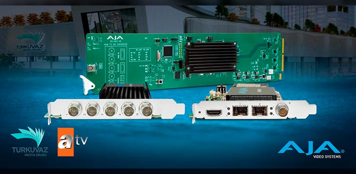 AJA solutions deployed in ATV's upgrade