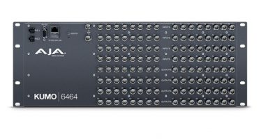 AJA KUMO 6464 compact SDI router is now available