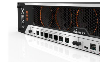 Appear TV introduces three modules for X10/X20 networking platform