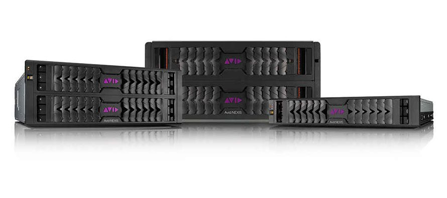 Avid expands media storage capacity and performance with Avid NEXIS