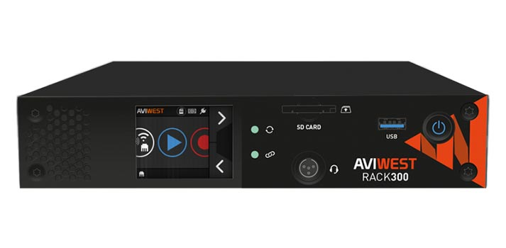 Design of the RACK 300 solution by Aviwest