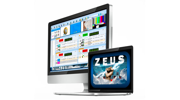 Screenshot of Zeus, a software of Bannister Lake
