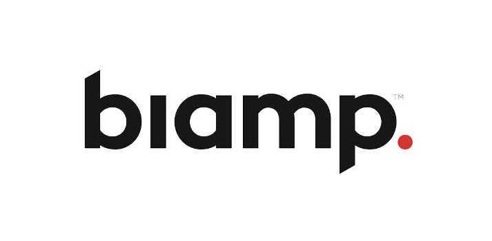 Logo of Biamp (2020)