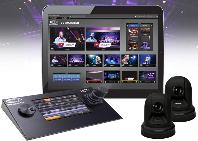 Broadcast Pix systems that will be showcased at InfoComm 2019