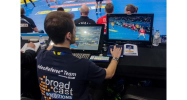 Broadcast Solutions provides several videoReferee systems to IHF Men's Handball World Championship in France