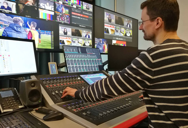 Calrec technology deployed at L'Equipe TV Channel