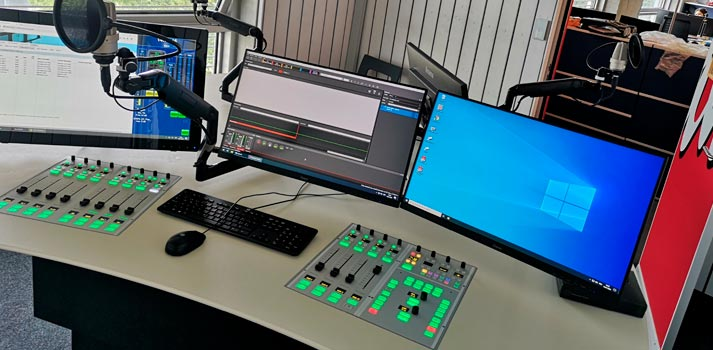 Lawo consoles integrated in the latest studio by Canal 3