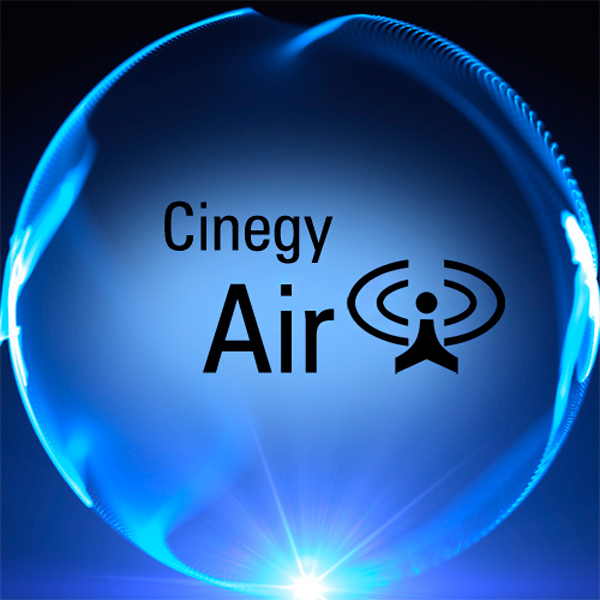 Logo of the Cinegy Air technology of Cinegy