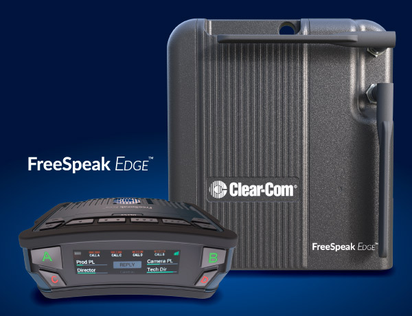 The FreeSpeak Edge of Clear-Com is the latest addition to the brand's portfolio