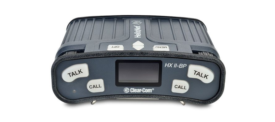 Clear-Com's new HelixNet digital beltpack is now shipping