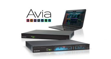 Crestron now shipping full line of Avia DSPs