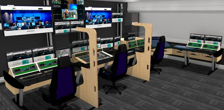 Operator Safety Screen solution developed by Custom Consoles