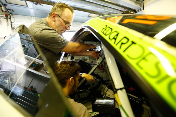 DTC systems were installed inside some cards of the Hankook endurance race
