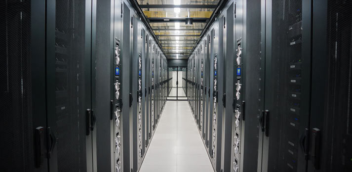 Datacenter of BCE which manages part of its production services and solutions