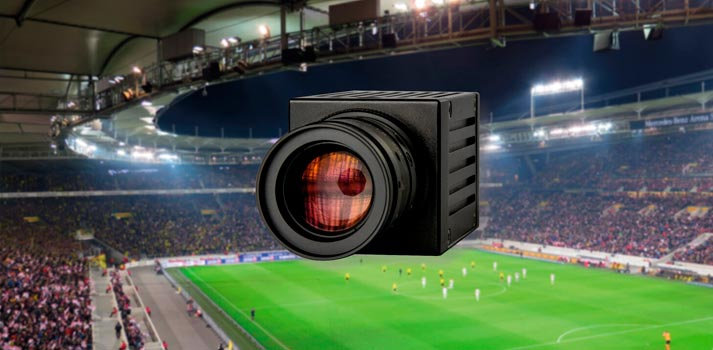 Dream Chip mii camerae Atom that will be distributed by Broadcast Solutions