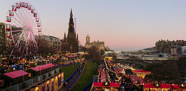 Edinburgh Hogmanay 19 celebration powered by Riedel Equipment
