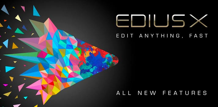 Promotional pic of Edius X