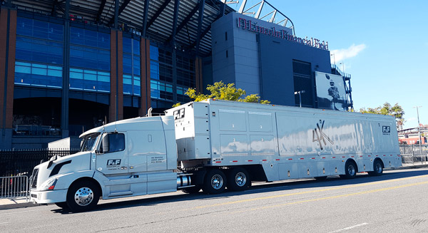 F&F productions 4K-equiped mobile units with EVS technology