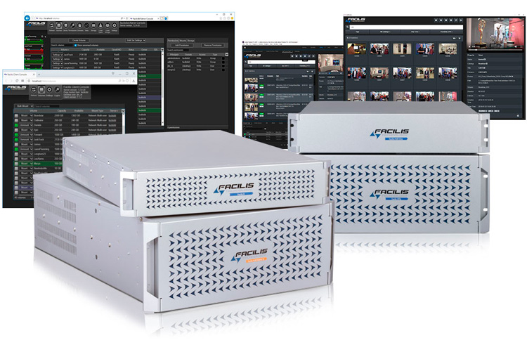 Facilis technology group of products that will be displayed at NAB NY 2019