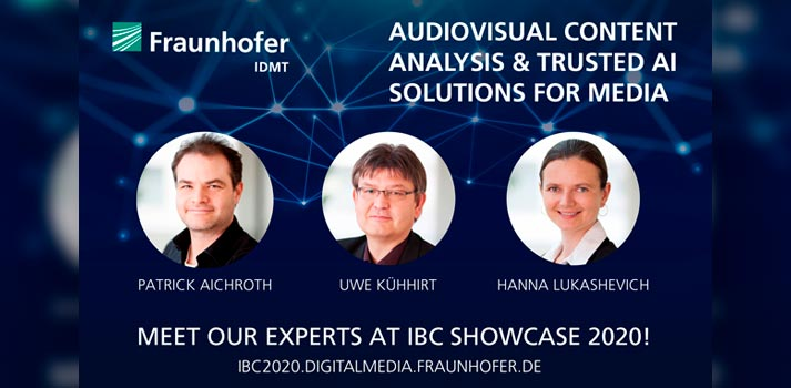 IBC Showcase 2020 will host Fraunhofer IDMT exhibition