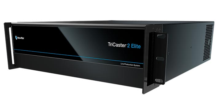Tricaster 2 Elite, newtek latest solution