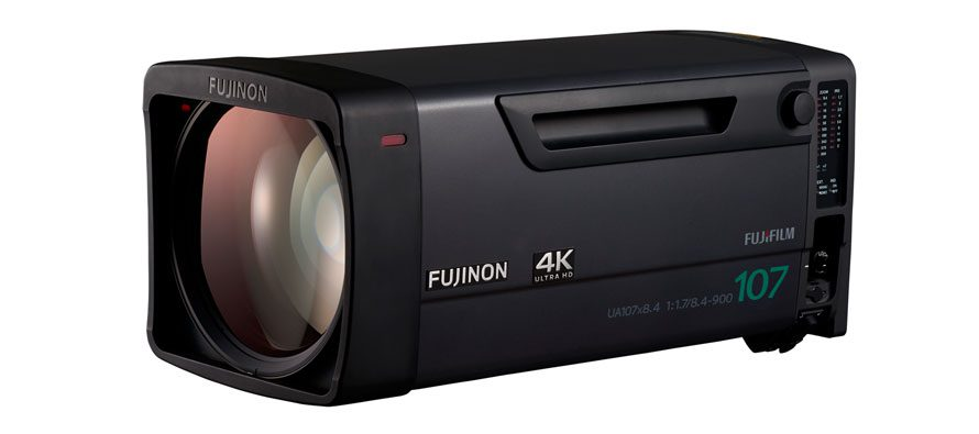 Fujifilm acquires project with Gearhouse Broadcast in largest ever purchase of 4K Fujinon broadcast lenses