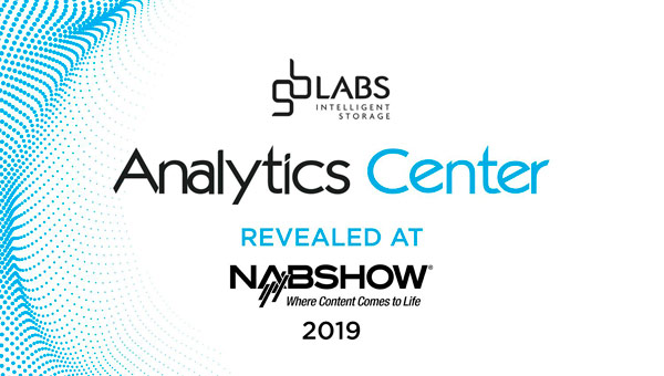 Preview of the release at NAB of the Analytics Center of GB Labs