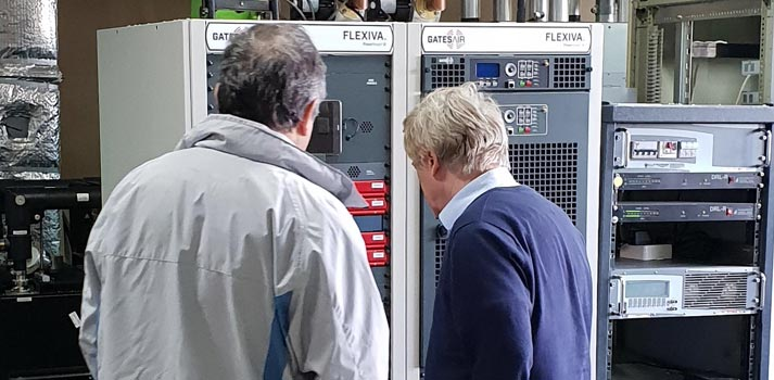 GatesAir's Flexiva transmitters implemented in Bulgaria's NURTS facilities