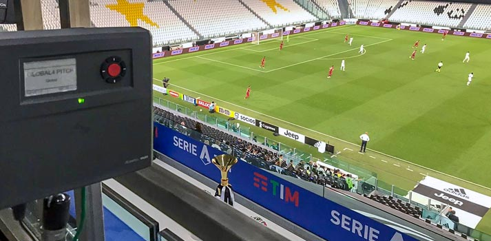 Riedel Bolero solution at Global Production EMG Italy football coverage