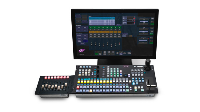 Kula AV is the latest all in one av system developed by Grass Valley for smaller productions