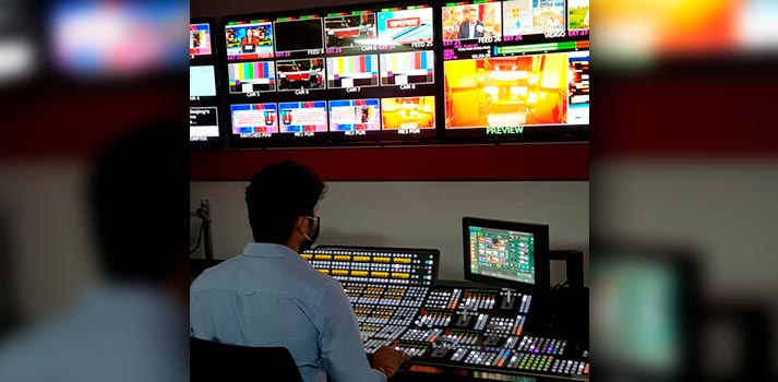 Republic TV production centre with Grass Valley Solutions