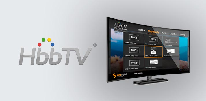 Opening pic of HbbTV report