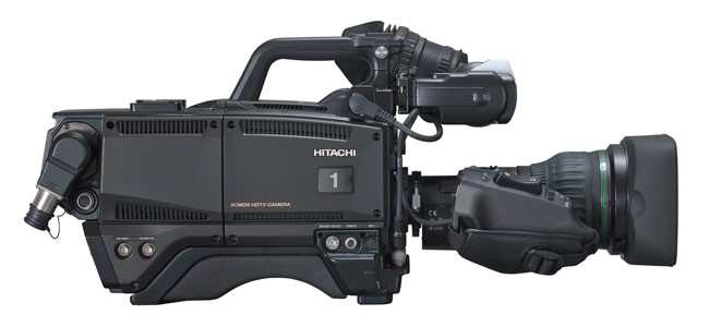 SK-HD1800 is the latest live production camera of Hitachi Kokusai