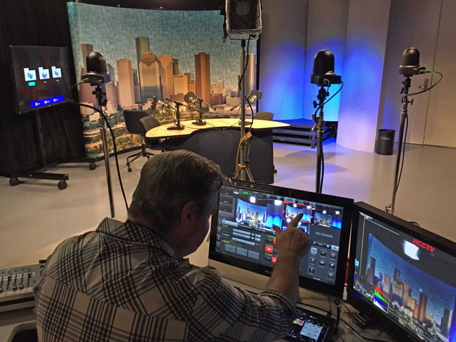 Community College of Houston deploying JVC live studio solutions