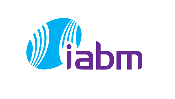 Logo of the IABM association