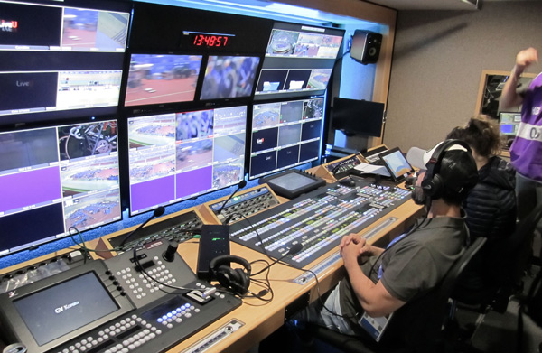 Broadcast Services provided this OB Truck to Belarus TV