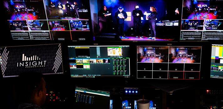 Insight Productions truck music event coverage