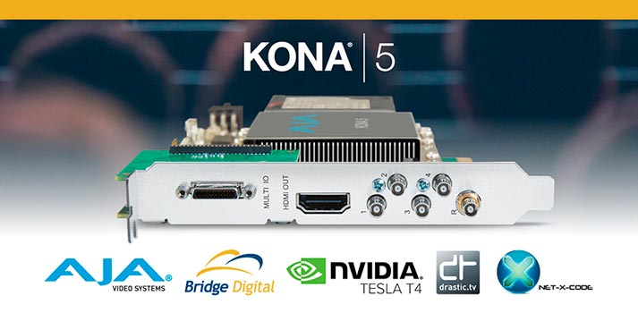 AJA Kona 5 solution
