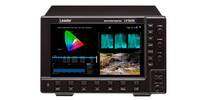 Leader LV5600 waveform monitor