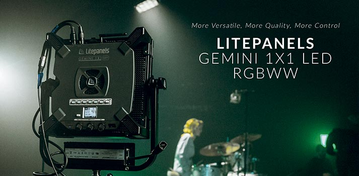 Litepanels Gemini 1x1 LED RGBWW