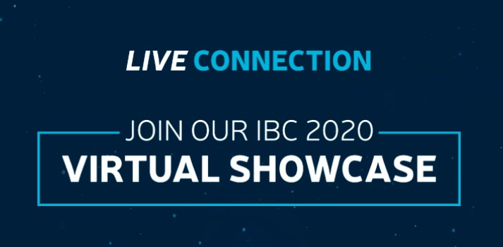 Live Connection Harmonic's IBC 2020 event