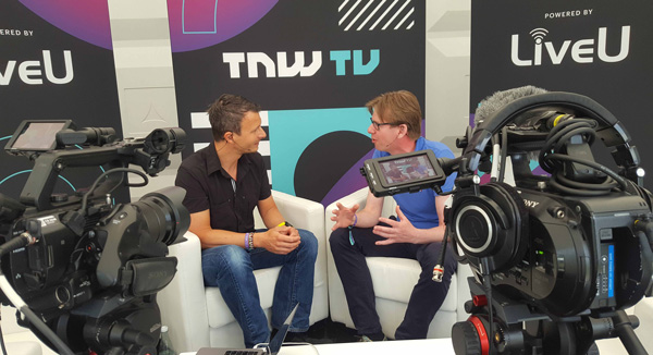 LiveU Studio at The Next Web 2018