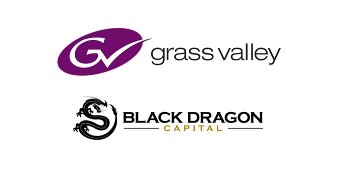 Logo of Grass Valley and Black Dragon Capital