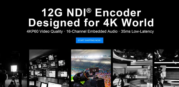 IBC Showcase 2020 - Magewell new 12G NDI Encoder
