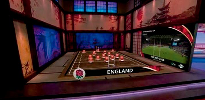 AR graphics - ITV Sport