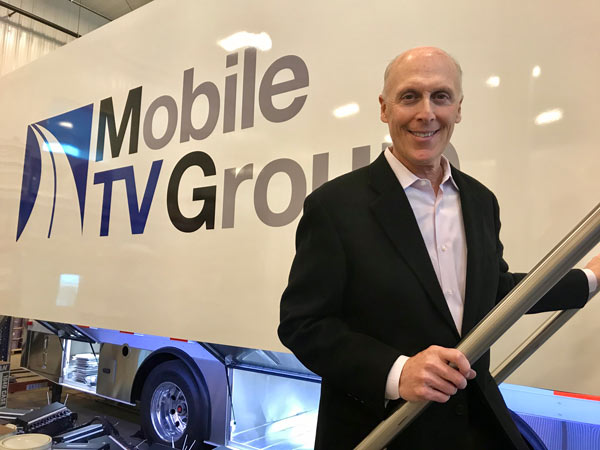 Philip Garvin, CEO of Mobile TV Group