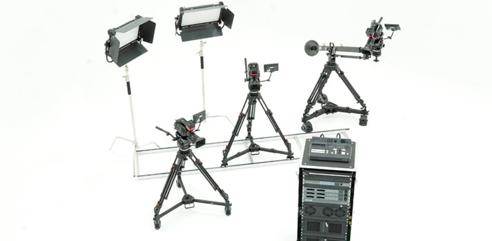 Mo-Sys startracker studio set up